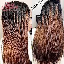 ombre kanekalon braiding hair 24inch ombre crochet braiding hair extensions xpression bulk