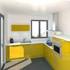 meuble cuisine jaune element de cuisine jaune nouveau meuble cuisine four meuble