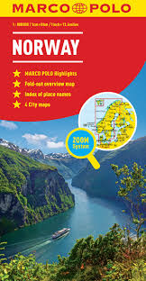 Norway World Map by Norway Marco Polo Map Marco Polo Maps Marco Polo Travel