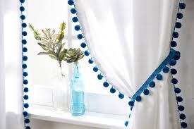 pompom curtains joann