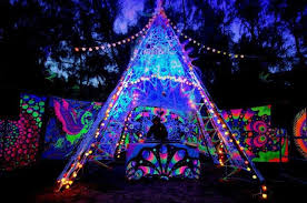 psychedelic festival decoration psychedelic festivals and