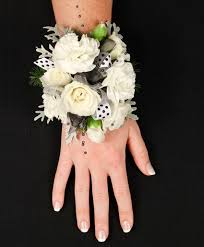 white corsages for prom white delight prom corsage in worthington oh up towne flowers