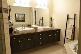 Bathroom Framed Mirrors Bathroom Design Ideas Bathroom Double Concrete Trough Sinks
