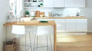 cuisine plan de travail en bois cuisine blanche plan de travail bois plan de cuisine bois free
