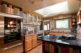 houzz glass kitchen cabinet doors my houzz a ranch style home in salem oregon evokes