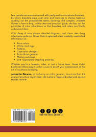 horse color explained a breeder u0027s perspective jeanette gower