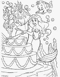 ariel mermaid coloring pages coloring