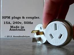 plugs g u0027day peoples au nz 15a plugs u0026 coupler youtube