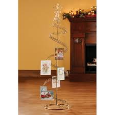 christmas card holders free standing decorating ideas