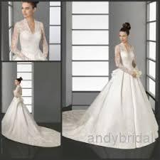 wedding dress with 2016 vintag wedding dress with sleeves v neck kate middleton