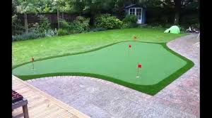 artificial grass golf putting greens in the uk youtube