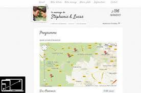 le site du mariage site de mariage personnalisé avec un design original