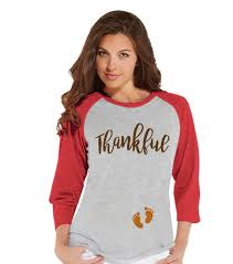 thanksgiving shirts thanksgiving pregnancy announcement thankful for baby