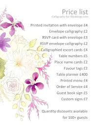 wedding invitation cost wedding invitation cost 9826 and price list for this