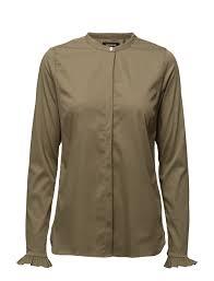 mos mosh mattie shirt light army 109 mos mosh boozt