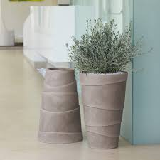 vasi in plastica da esterno vasi da giardino e casa in plastica zig zag nicoli