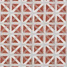 Geometric Drapery Fabric Orange Fabric For Upholstery And Drapery Use