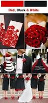 Red Wedding Decorations Conteporary Red And Black Wedding Ideas Image 26326 Johnprice Co