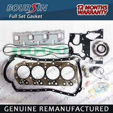 engine full gaskets set for isuzu 4jb1 non turbo nhr nkr pickup