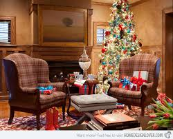 Christmas Decoration For Living Room Table by 15 Christmas Decorated Living Rooms Home Design Lover