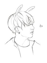 Bts Kpop Coloring Pages Pictures To Pin On Pinterest Pinsdaddy Coloring Pages Kpop