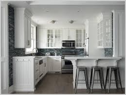 mosaic glass backsplash kitchen blue mosaic glass backsplash tiles with beadboard cabinets