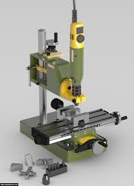 3d milling machine diy milling machine made from proxxon components softbytelabs