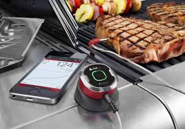 Backyard Grill Wireless Thermometer by Avon Based Idevices Sells Popular Grilling App To Weber Hartford