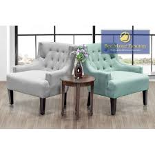 Turquoise Accent Chair 589 Accent Chair Best Master Furniture