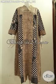 desain baju batik halus model baju batik wanita terusan gamis batik halus motif mewah
