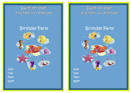 caillou birthday invitations finding nemo birthday invitations u2013 birthday printable