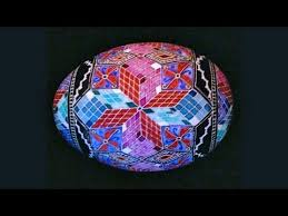 pysanky designs how to create 3d cube designs for pysanky steps tumbling block