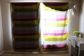 How To Attach Blackout Lining To Curtains Make Your Curtains Blackout Curtains Simplified Version Make