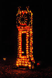 Halloween Pumpkin Lantern - giant pumpkin sculptures at the great jack u0027o lantern blaze bored