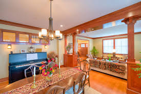 design ideas cozy craftsman dining room with design build and