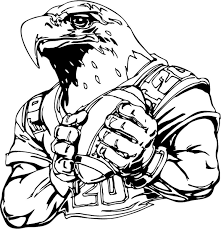 Free Printable Philadelphia Eagles Coloring Pages Murderthestout Football Coloring Page