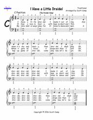 musical dreidel the dreidel song i a dreidel year piano