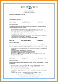 Employment History Example 5 Perfect Resume Example Resume Setups
