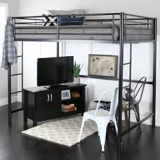 Free Loft Bed Plans Queen by Queen Loft Bed Wayfair