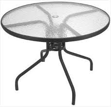 round glass outdoor table round glass top patio table easti zeast online