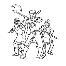 coloriage militaire les beaux dessins de personnages à imprimer