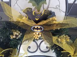 it s a breast grabbing kinda thanksgiving batman wreath