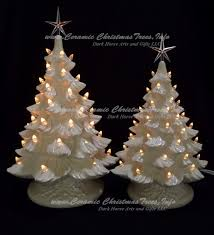 white christmas trees ceramic christmas tree collection white christmas 2 tree ceramic