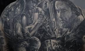 15 the walking dead tattoos better than season 2 cultured vultures