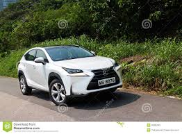 lexus hybrid test drive lexus nx 300h hybrid suv editorial stock photo image 46305593