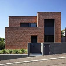 modern brick house modern brick houses small house plans modern