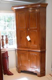 cherry wood corner cabinet brilliant cherry wood corner cupboard 1840 pennsylvania from antique