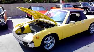 porsche 914 yellow 1971 porsche 914 sold youtube