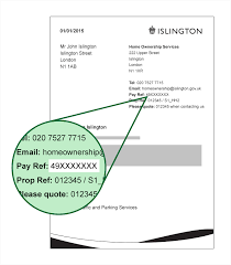 where you can find your leaseholder payment reference number