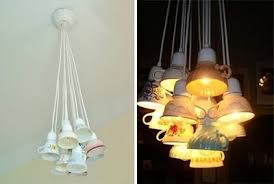 Tea Cup Chandelier These Chandeliers Are Made From Design Dazzle